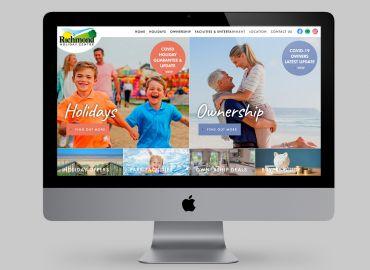 Richmond Holiday Centre new website