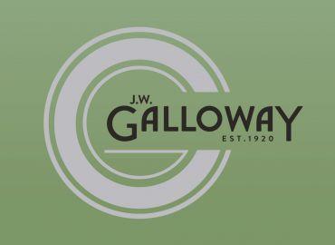 Branding for new food brand J.W.Galloway