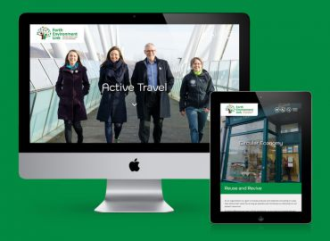 A new group site for Forth Environmental Link