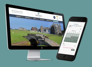 New website for Ardgowan Hotel